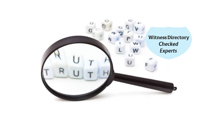 Leading Expert Witnesses, The Best Value For Money Directory